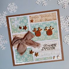 Ensimmäiset joulukortit rakentuivat viime vuosien korttien jämäpaloista / First Christmas cards for this year are made of previous years… I Card, Frame, Home Decor, Picture Frame, Decoration Home, Room Decor, Frames, Home Interior Design, Home Decoration