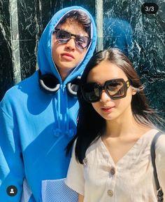 Sunglasses 🕶 Round Sunglasses, Mirrored Sunglasses, Filipino, Cute Couples, Squad, Panda, Animation, Wallpaper, Friends