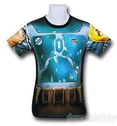 Boba Fett Fitness T-Shirt - Sublimated Costume