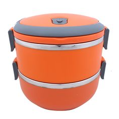 Round Kart Imported Hengli Lunch Box - Strong - Durable - College / Office Essentails