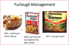 Furlough management for government workers ...