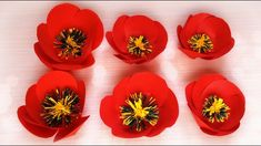 Paper flowers DIY tutorial: Poppy flower made of paper | Maison Zizou