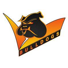 Canterbury Bulldogs Mortal Kombat Logo by Sunnyboiiii Mortal Kombat Trilogy, Mortal Kombat 1, Canterbury Bulldogs, Bulldog Mascot, Dog Anxiety, Rugby League, Fighting Games, Dog Grooming, Cheerleading