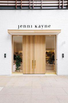 Likes cafe interior, interior exterior, retail interior, door signage, stor Showroom Design, Shop Interior Design, Cafe Design, Retail Design, Store Design, Retail Interior, Interior Exterior, Exterior Design, Interior Door