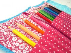 Colour Pencil Rolls. #cute #children #toy