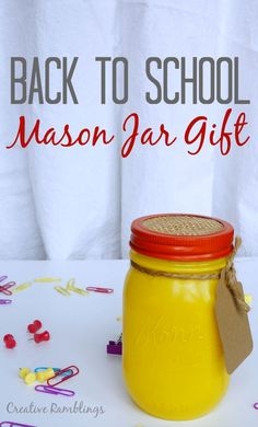 Back to school mason