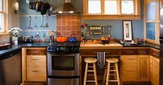 لا يجب أن يكون المطبخ هو أكثر الأماكن فوضى على وجه الأرض، بل يمكن مع القليل من الجهد الاحتفاظ به منظمًا ونظيفًا، وهو ما ينعكس إيجابًا عليكى.