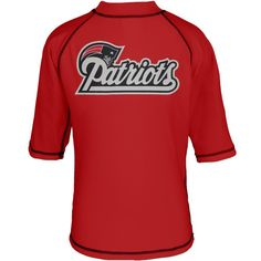 New England Patriots - Logo Rash Guard Juvy T-Shirt