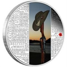 The ANZAC Spirit - Lest We Forget 2015 1 Kilo Silver Proof Coin