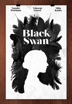 #Movie #poster Black Swan #graphic #design #illustration #cinema
