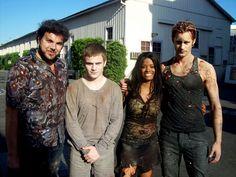 True Blood Behind The Scenes - hahahahaha imagine seeing them Standing on the street corner