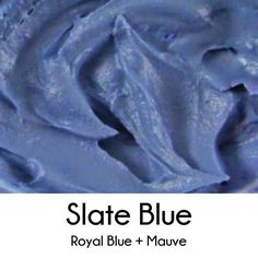 How to Make Slate Blue Royal Icing (Mix Colors Icing)