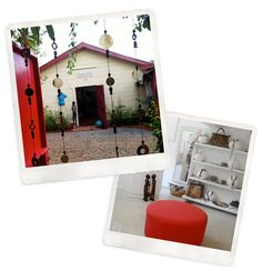 Outside our showroom and inside our Village Market boutique, both in #Nairobi #Kenya