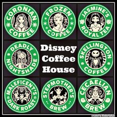 DISNEY COFFEE HOUSE ~ Created by Kimberlydyan