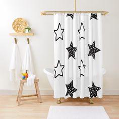 Elegant Shower Curtains, Floor Pillows, Throw Pillows, Program Design, Duvet Covers, Black And White, Pattern, Toss Pillows, Cushions