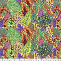 Kaffe Collective Fall 2018 are so beautiful and will be great for that next project. Coleus Gold Yardage by Kaffe Fassett for Free Spirit Fabrics is a fun coleus look in deep rich colors of blue/green, blue, and purple. Tula Pink Fabric, Gold Fabric, Dahlia, Coleus, Free Spirit Fabrics, Thing 1, Cotton Quilting Fabric, Cotton Quilts, Applique Patterns