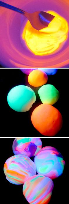 Homemade Glowing Bouncy Ball