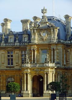 Waddesdon Manor, Buckinghamshire |   This Renaissance-style château was built by Baron Ferdinand de Rothschild