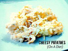 Lightened Up Cheesy Potatoes