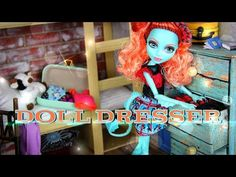 ▶ How to Make a Doll Dresser - YouTube