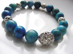 Happiness Bracelet Crazy Lace Agate, 10mm stones, accents, FREE U.S. Shipping  by CherylsHealingGems on Etsy, $28.00
