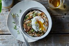 Savory Ris-Oat-to with Poached Egg recipe on Food52