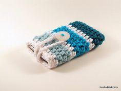 Crocheted iPod / iPhone / MP3 Player / Mobile by HookedUpByKim, $8.00