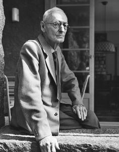Hermann Hesse, photographed by Fred Stein, ca. 1961.