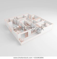 Illustrazione stock 631963094 a tema Freehand Sketch Drawing Furnished Home Apartment Drawing Sketches, Drawings, Decorative Boxes, Stock Photos, Safe Search, Home, 3d, Image, Home Plans