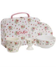 Cath Kidston  Rose Breakfast Set and Case, Cath Kidston    £24.95