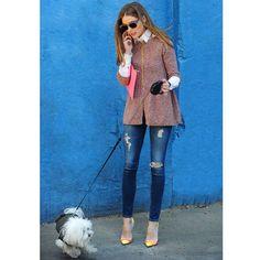 Olivia Palermo, au top des tendances dans les rues de New-York