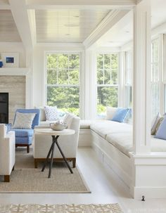 Coastal Living room - Janine Dowling
