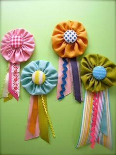 more pretty prize-ribbons!