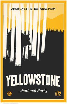 Yellowstone National Park by Matt Brass