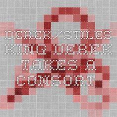 Derek/Stiles. King Derek takes a consort.