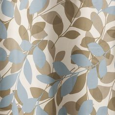 Simple Leaf curtains from Marks & Spencer | Ready-made curtains | Living room | PHOTO GALLERY | Ideal Home | Housetohome.co.uk