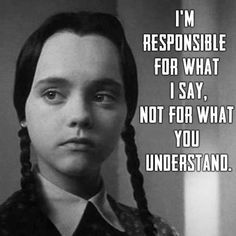 22 Wednesday Addams Memes That Warm Our Dark Hearts Great Quotes, Me Quotes, Funny Quotes, Inspirational Quotes, Zodiac Quotes, Goth Quotes, Goth Memes, Qoutes, Addams Family Quotes