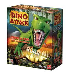 Dino Attack - gioco simpatico e divertente per bambini. Riprendi le tue uova prima che il T-Rex ti becca! I miei figli si divertono molto con questo gioco! The Box 232787 - Dino Attack