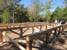 Questions about building a concrete pier Picnic Table, Outdoor Furniture, Outdoor Decor, Concrete, Cabin, Building, Steel, Home Decor, Decoration Home