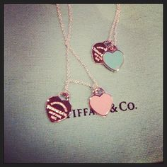 Just because it makes me think of the conversation heart jewelry I had as a little girl., but with a more sophisticated twist!
