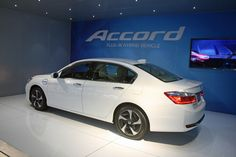 Honda, from the Los Angeles Auto Show, releases new details about its forthcoming Accord Hybrid and Plug-In Hybrid as it looks to play catch up with Toyota.