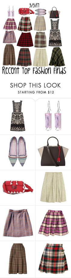 """Recent Top Fashion Finds"" by maggie-johnston ❤ liked on Polyvore featuring Needle & Thread, Belk Silverworks, Fendi, Marni, Yves Saint Laurent and Topshop"