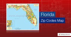 to know zip codes of all the areas of Rollover on Florida zip code map to zoom in Florida Usa, Zip Code Map, Postal Code, Area Codes, Getting To Know, Landscaping