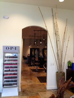 Entrance into salon from the lobby