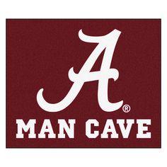 Alabama Crimson Tide 5' X 6' Man Cave Tailgater Area Rug Floor Mat