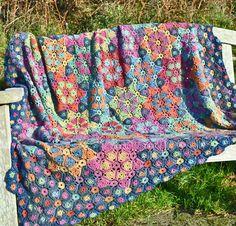 Twinkle, Twinkle Little Star Crochet Blanket by Amanda Perkins | Flickr - Photo Sharing!