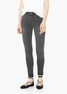 Skinny Elektra jeans Jeans Skinny, Cool Style, Mango, Black Jeans, Clothes, Women, Minimalism, Shop, Fashion
