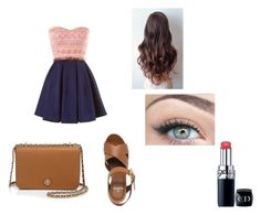 """""""Untitled #97"""" by skirmantesatkute ❤ liked on Polyvore featuring Mulberry, Tory Burch and Christian Dior"""