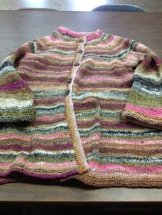 Julie's Lifestyle: Knitted Sweater Made With Love