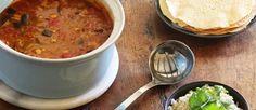 Gezonde curry gevuld met groenten